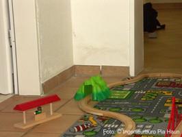 Schimmelschäden in Souterrainwohnung  | Schadensursache: baulichen Mangel, Foto: © Ingenieurbüro Pia Haun - Trier