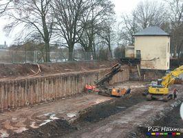 Neubau eines Regenrückhaltebecken in Trier | Rückbau des Wasserwerks | Tiefbau und Spezialtiefbau, Foto: © Ingenieurbüro Pia Haun - Trier