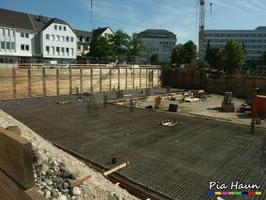 Neubau von Wohn- und Geschäftshäusern | Bitburg, Foto: © Ingenieurbüro Pia Haun - Trier