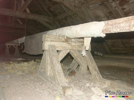 Rohrummantelung | schwach gebundener Asbest, Foto: © Ingenieurbüro Pia Haun - Trier