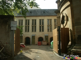 Haus des Domchores, Umbau, Erweiterung | Arbeiten im kontaminierten Bereich | Weltkulturerbe | Trier, Foto: © Ingenieurbüro Pia Haun - Trier