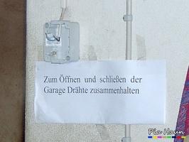 Ganz schön auf Draht, Foto: © Ingenieurbüro Pia Haun - Trier