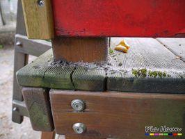 Gebrauchsklasse 4: Der Witterung ausgesetzte Bauteile   Gefährdung durch Holz zerstörende Insekten und Pilze, Auswaschung sowie Moderfäulepilze   Foto: © Ingenieurbüro Pia Haun - Trier