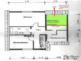 Sanierungskonzept | Abschottung des Schwarzbereichs, Foto: © Ingenieurbüro Pia Haun - Trier
