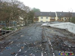 Generalsanierung eines Schulgebäudes in Trier | Abbruch mit Arbeiten im kontaminierten Bereich, Foto: © Ingenieurbüro Pia Haun - Trier